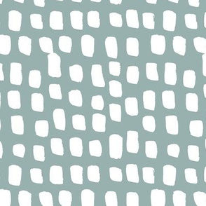 Abstract white spots Scandinavian minimal designs brush dashes stone gray
