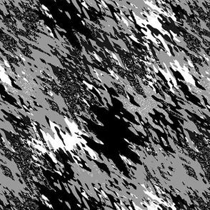 Nature monochrome brush strokes