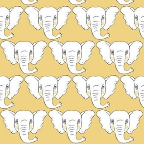elephant-faces-on light-gold