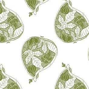 Fresh Fruit Fig in Olive