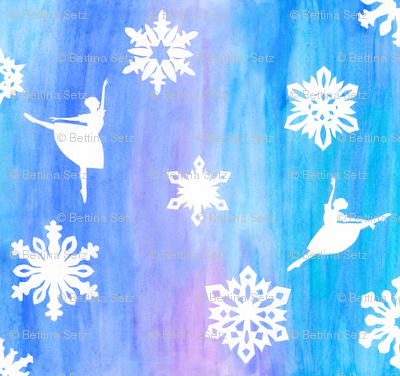Rballet-and-snowflakes_fabric_preview