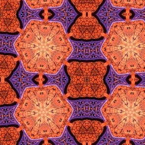 Orange purple dance