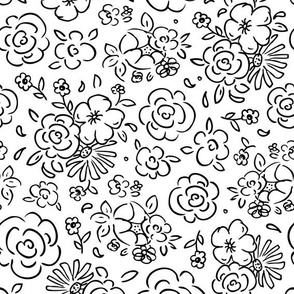 Dainty Details Coloring Book Style