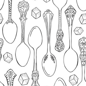 Spoonful of Sugar Coloring Book Style