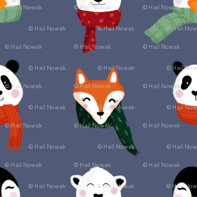 Animals in Scarves