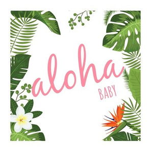 Aloha baby - pink