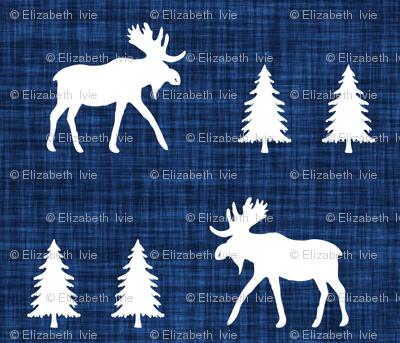 moose trot // 108-16 linen // small