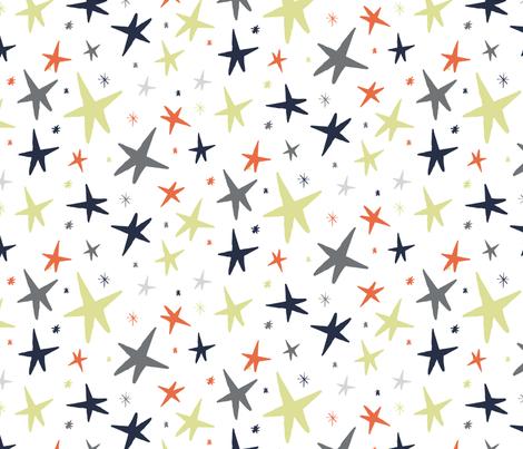 Star Light fabric by seesawboomerang on Spoonflower - custom fabric
