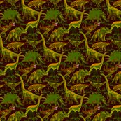 Rdinosaurs-browns-and-greens-on-dark-burgandy_shop_thumb