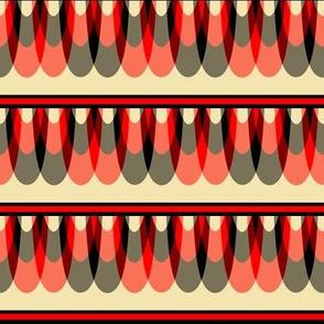 Scalloped Stripes 1
