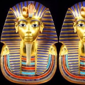 1 ancient egypt egyptian king tut Tutankhamun pharaoh gold mummy death masks funerary funeral cobra snakes crown Uraeus Wadjet vulture Nekhbet serpent