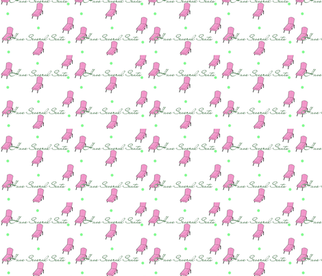 Have Several Seats fabric by trina_taylor_for_taylormadeguide on Spoonflower - custom fabric