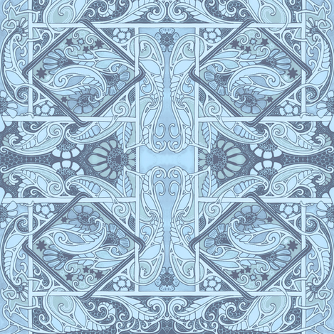 With a 19th Century Soul fabric by edsel2084 on Spoonflower - custom fabric