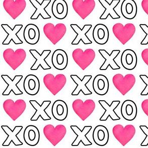 XOXO Heart - White