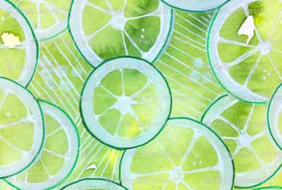 Lime Ring Kaleidoscope