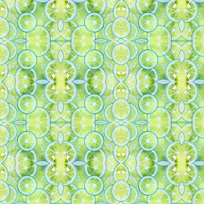 Lime Ring Kaleidoscope