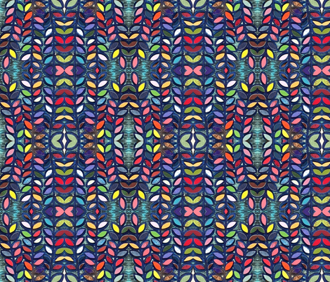 Valparaiso 172 fabric by hypersphere on Spoonflower - custom fabric