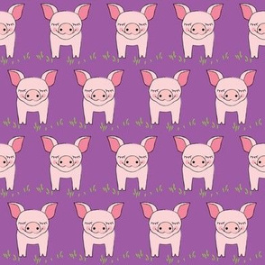 pigs-and-grass