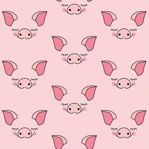 pink pig-faces-without edges