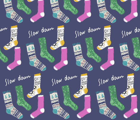 Knit stocking fabric by canigrin on Spoonflower - custom fabric