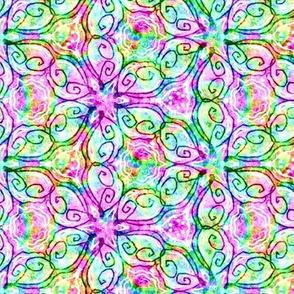 Olivia Design in Rainbow Colors