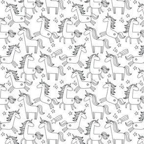Cute Unicorn pattern