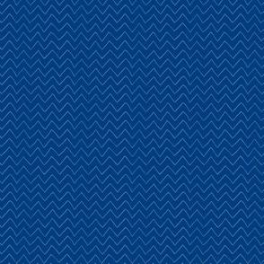 Baby Whales Navy Blue Chevron