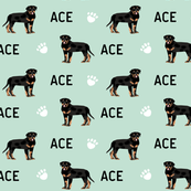 rottweiler custom ace - contact me before ordering to customize