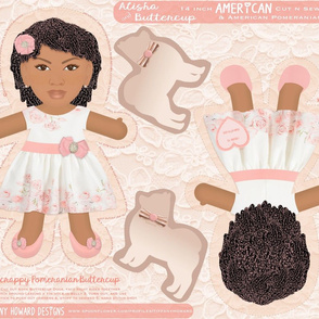 Alisha & Buttercup 14 in Doll