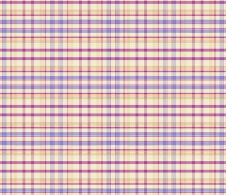Flutterby Plaid Purple fabric by mammajamma on Spoonflower - custom fabric