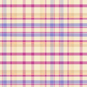 Flutterby Plaid Purple