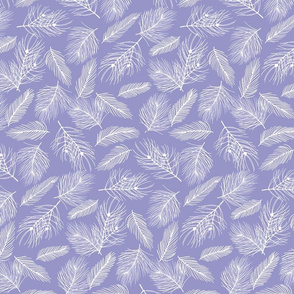 Pine-Pattern-Outlnes-White-Violet