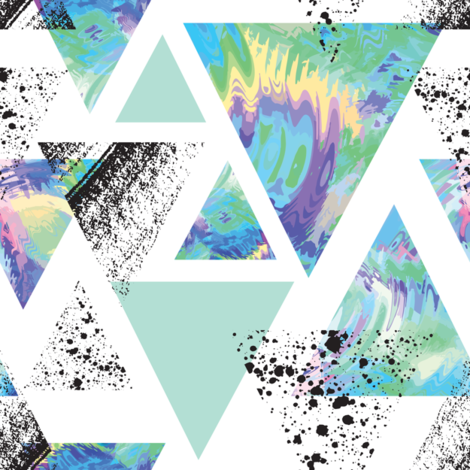 New Wave fabric by lunastone_crafts on Spoonflower - custom fabric