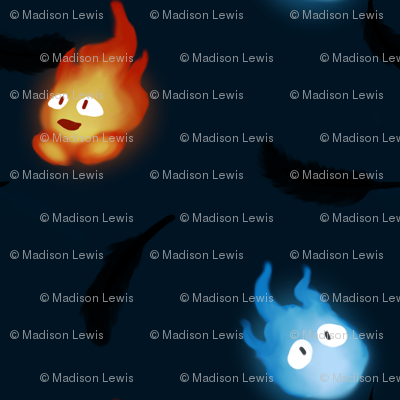 Flames and Stars