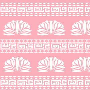 LOTUS STRIPE PALE PINK