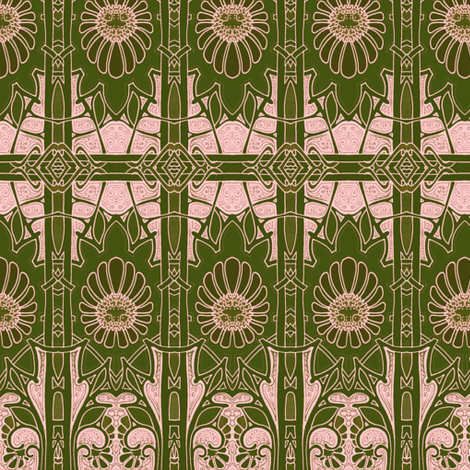 Blooming Blush fabric by edsel2084 on Spoonflower - custom fabric