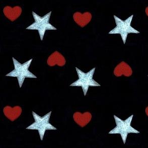 Stars & hearts - Etoiles & coeurs