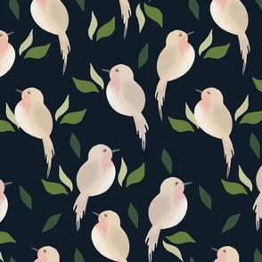 Bird Pattern. JD