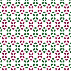 Bean Dots    -White w-Cherry + Pine