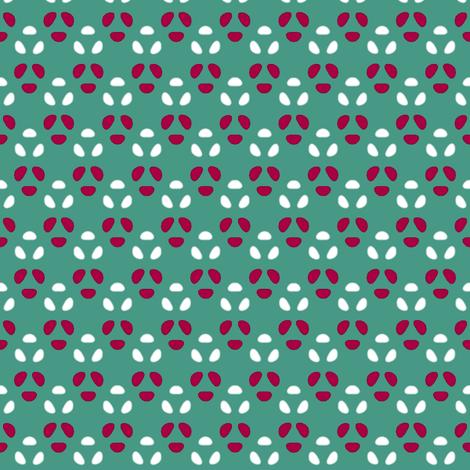Bean Dots Triads fabric by fireflower on Spoonflower - custom fabric