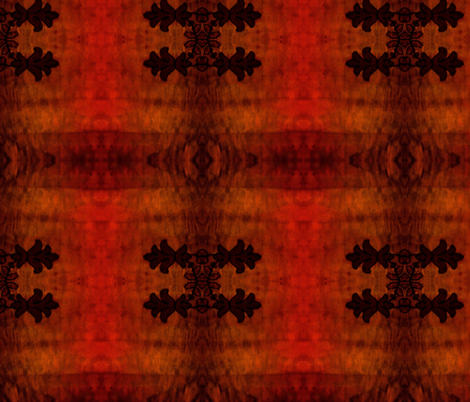 Grand Lake Theater wall carpet fabric by thinknoise on Spoonflower - custom fabric