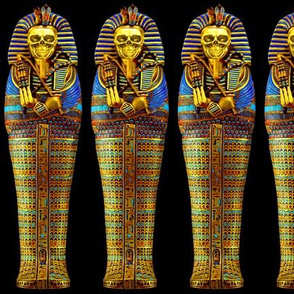 5 ancient egypt egyptian king tut Tutankhamun pharaoh gold mummy death masks cobra snakes crown vulture serpent coffin skulls skeletons shepherd's Crook flail Nekhbet Wadjet Uraeus funerary funeral hieroglyphs