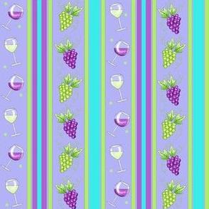 Wine Stripe Lavender