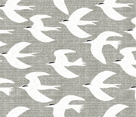 arctic tern fabric by ottomanbrim on Spoonflower - custom fabric