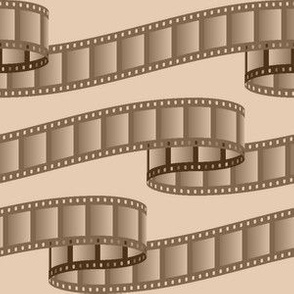 07053934 : film ribbon : sepia