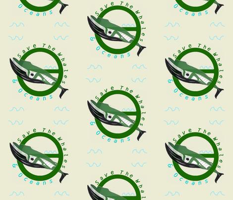 Eco-Warrior Tatoo fabric by twilfley on Spoonflower - custom fabric