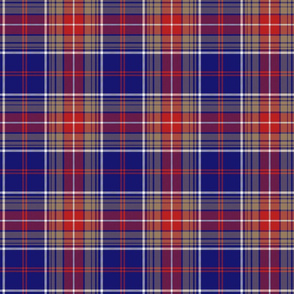 "Largs district tartan, 6"" bright"