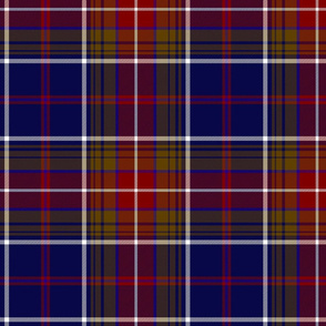 "Largs district tartan, 10"" dark"
