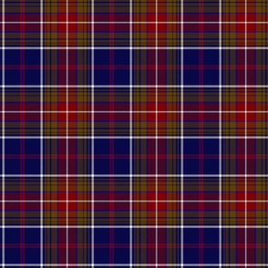 "Largs district tartan, 6"" dark"