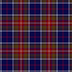 "Largs district tartan, 7"" dark"